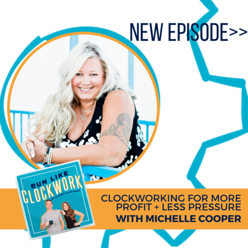 Clockwork episode 85 with Michelle Cooper, Alchemy Accounting