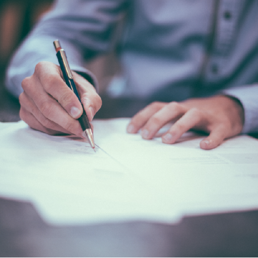 Man writing letter about what I wish I'd known when starting my small business