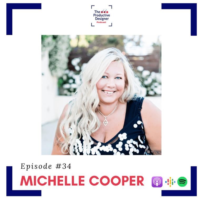 Michelle Cooper on the Productive Designer podcast